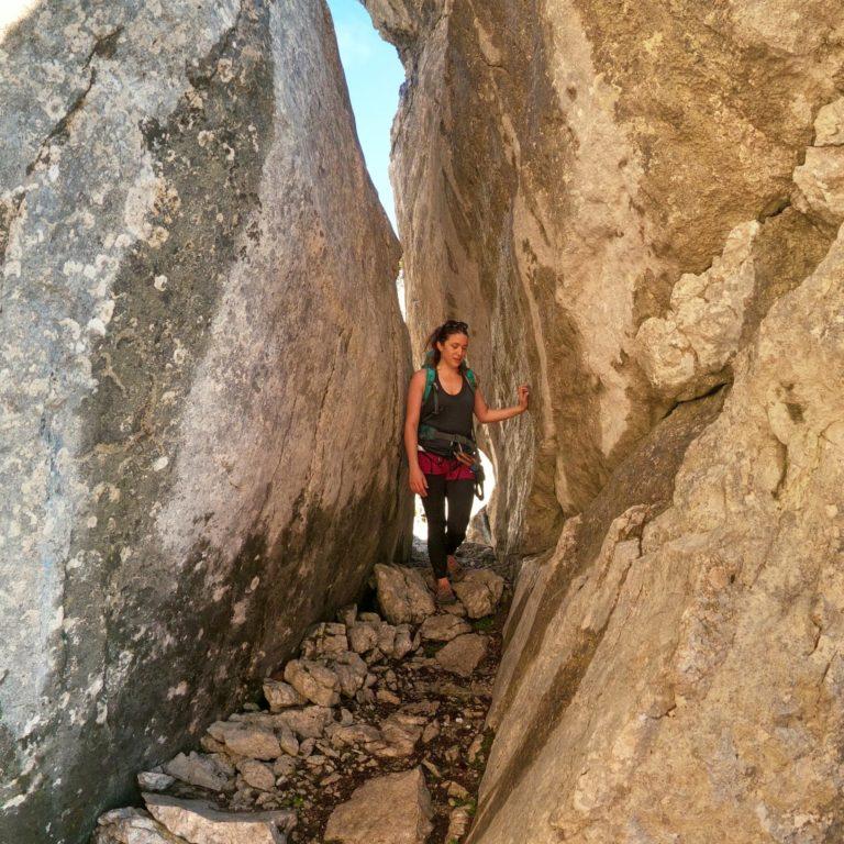 Mandlgrat Klettersteig