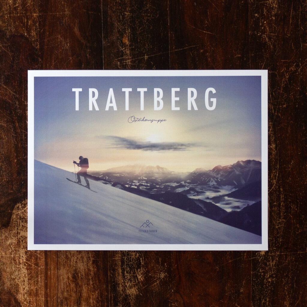Skitouring Poster Retro Design