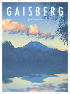 Gaisberg Salzburg Poster