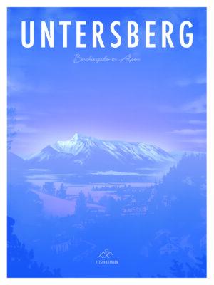 Untersberg Andenken Poster Kunst